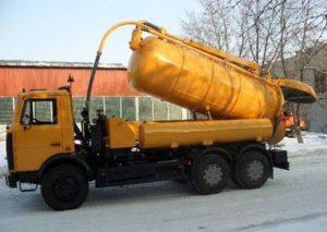 откачка канализации химки, фото № 00527